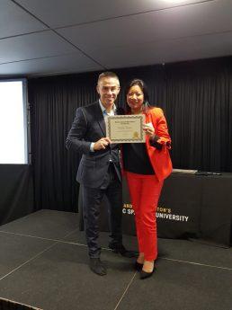 Graduated from Andy Harrington's PSU